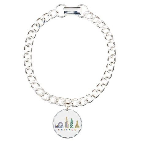 460x460 Chicago Skyline Bracelets Chicago Skyline Bracelet Designs
