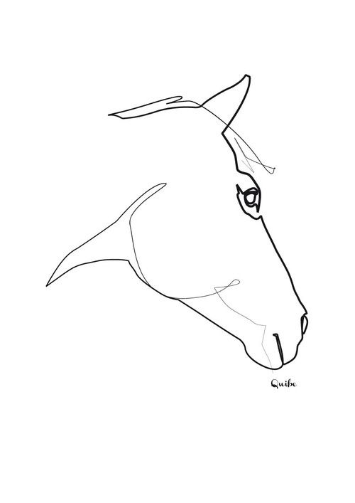 500x707 The Best Single Line Drawing Ideas On Face Line