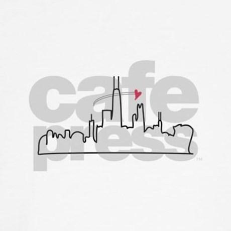 460x460 Chicago Skyline Teddy Bear By Windmill3