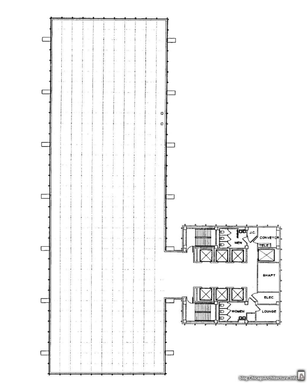 1044x1300 30 West Monroe Inland Steel Building Chicago Architecture