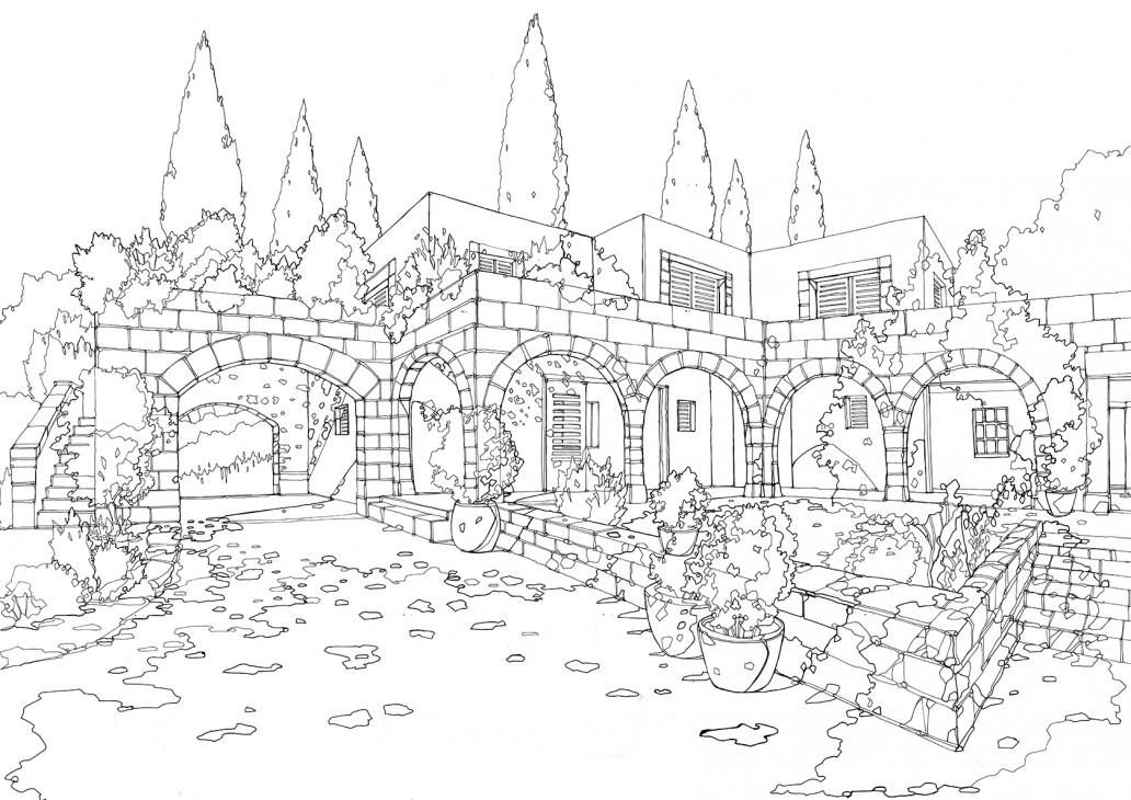 1032x730 Abidaker Illustrated Maps