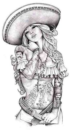 Chicano Drawing