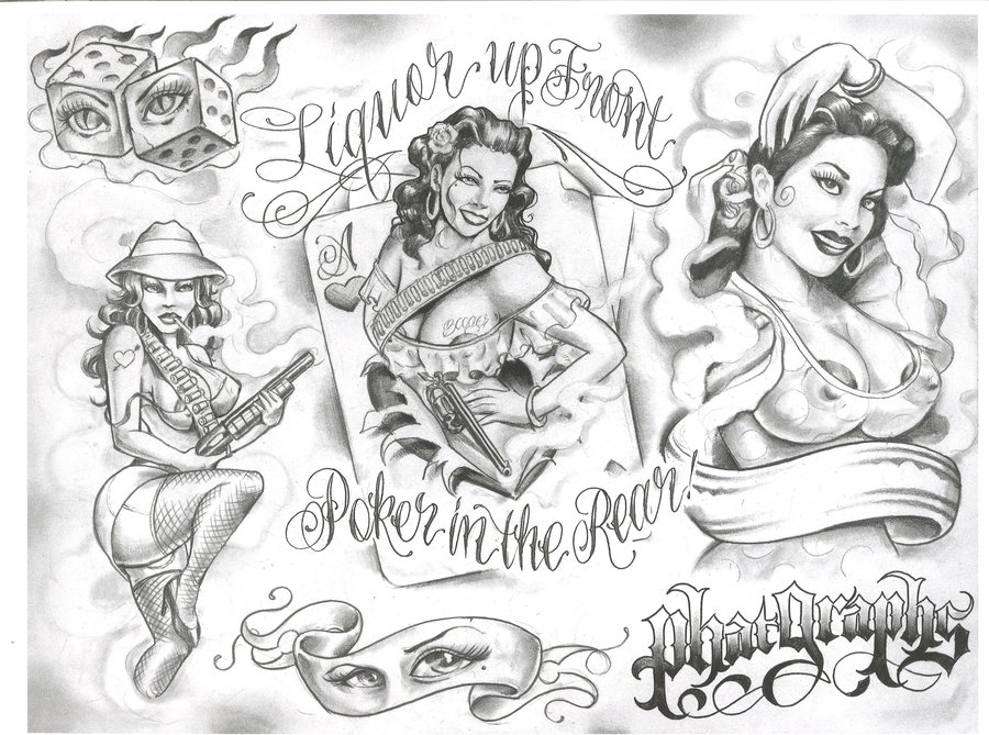 900x669 Chicano Tattoos By Gatunoman D3d4cmg Tattoo