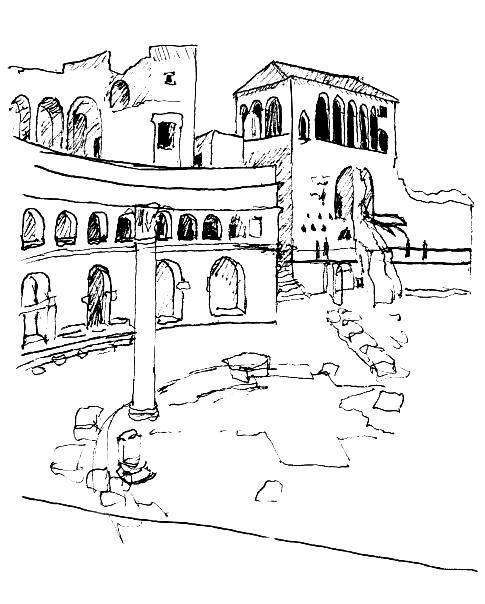 Chichen Itza Drawing