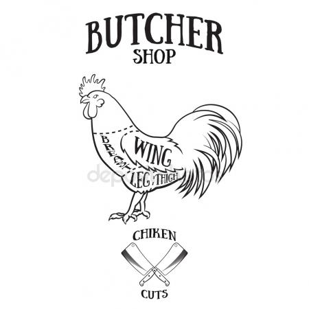 450x450 Chicken Breast Stamp Stock Vectors, Royalty Free Chicken Breast