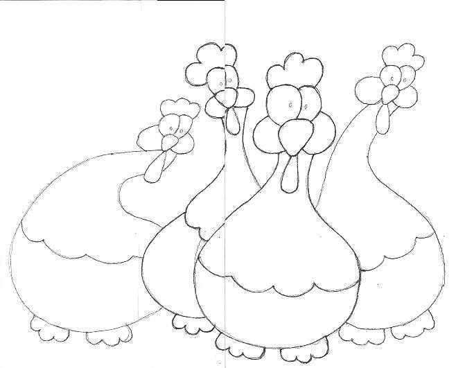 Chicken Scratch Drawing