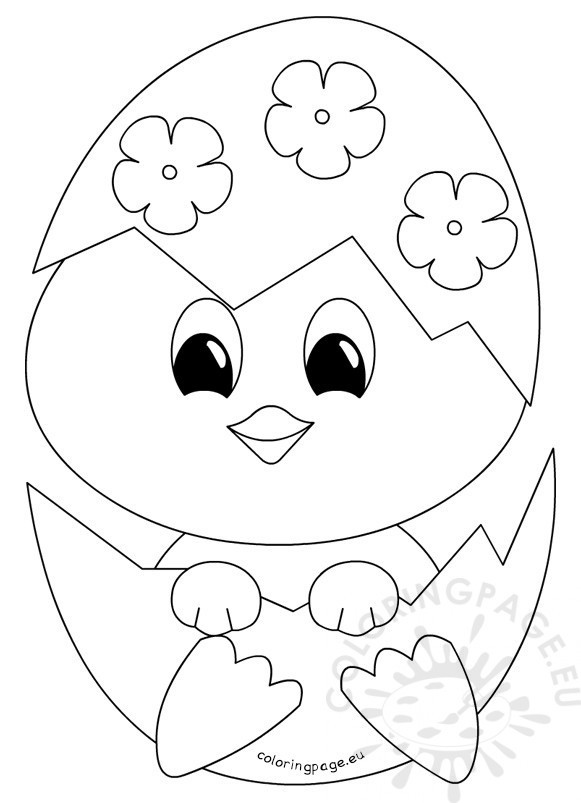 581x803 Advice Baby Chicks Coloring Pages Free Children S Chick Page Other