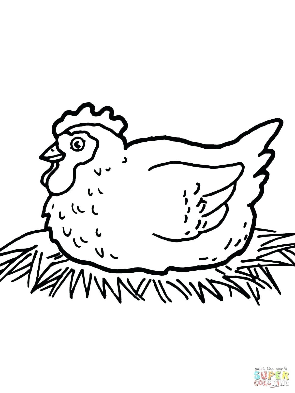 1200x1600 Coloring Baby Chicks Coloring Pages Chicken Laying Chocolate Eggs