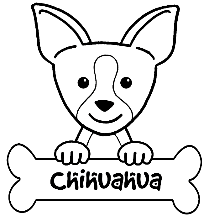 Chihuahua Dog Drawing at GetDrawings.com | Free for personal use ...