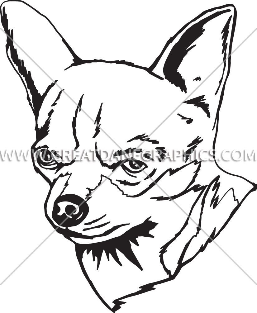 Chihuahua Line Drawing at GetDrawings.com   Free for personal use ...