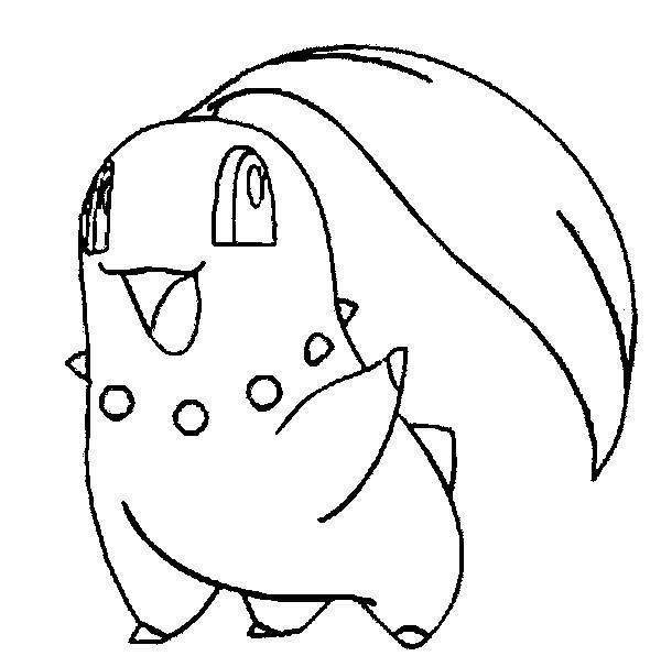 Chikorita Drawing at GetDrawings.com | Free for personal use ...
