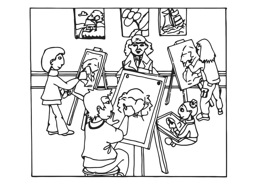 875x620 Children Drawing Coloring ~ Child Coloring