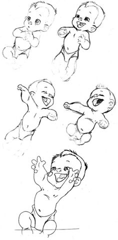 236x478 Anatomy Drawing Reference Drawing Babies Baby Poses Gesture