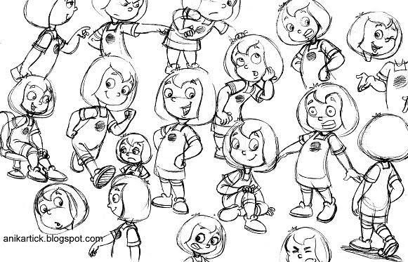 581x373 Chennai Animation Artist Anikartick Sketches Character Designs
