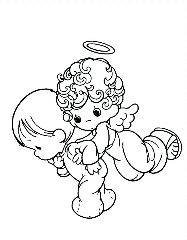 650x833 Precious Moments Baby Coloring Pages Precious Moments Baby