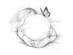 236x179 Drawing Of Sleeping Angel Baby Lauren Eldridge Murray