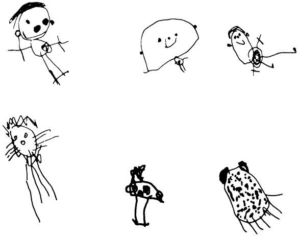 584x466 Pictures Children Drawing People,