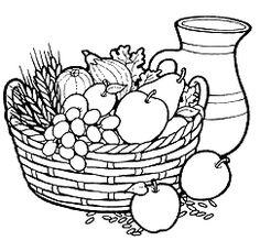 236x219 Fruit Basket Pictures For Kids Colour Drawing Hd Wallpaper La