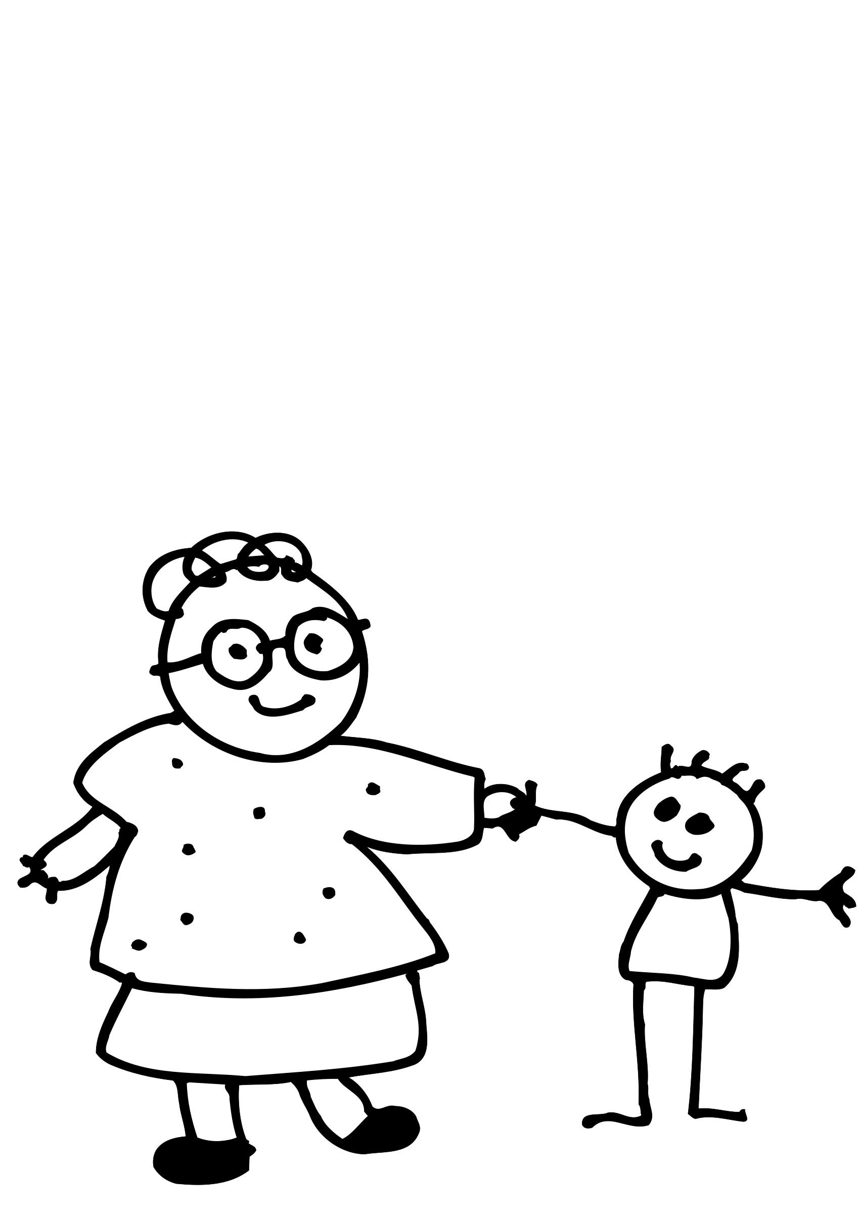1697x2400 Mother And Baby Line Drawing Clipart Panda