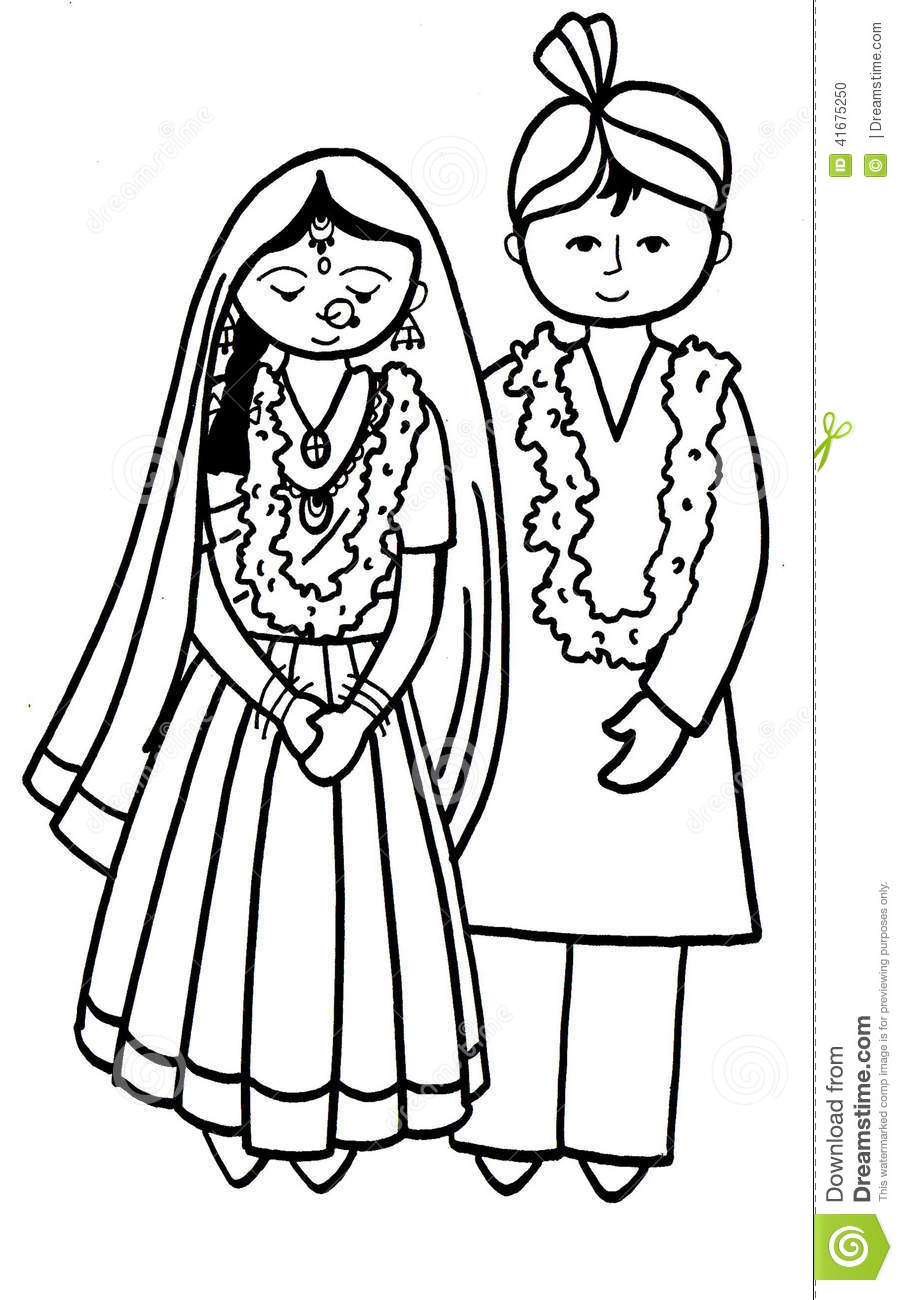 903x1300 Indian Child Marriage Clipart 1 Clipart Station