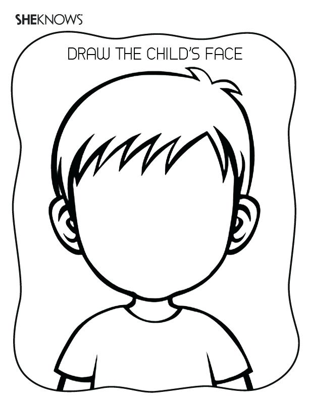 612x792 Face Coloring Pages For Makeup Kids N Of Faces Best Coloring
