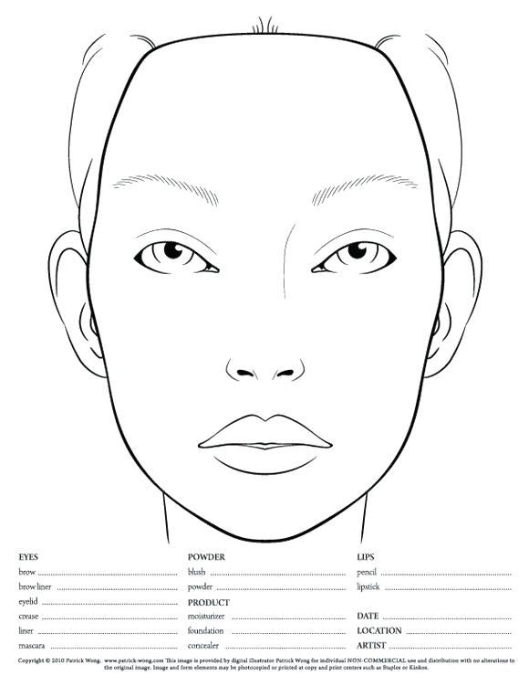 580x751 Blank Face Coloring Page Mesmerizing Blank Face Coloring Page Free