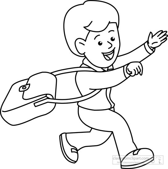 Child Outline Drawing At Getdrawings Com
