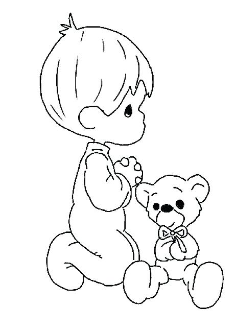 Child Praying Drawing At Getdrawings Com Free For Personal Use