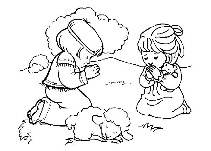 700x500 Christian Coloring Pages For Kids 14 Together With Christian