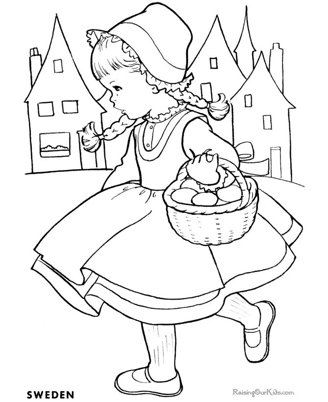 670x820 Drawings For Children To Color Coloring Page