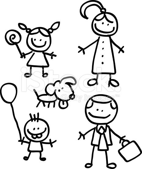 466x556 Children Cartoon Black And White