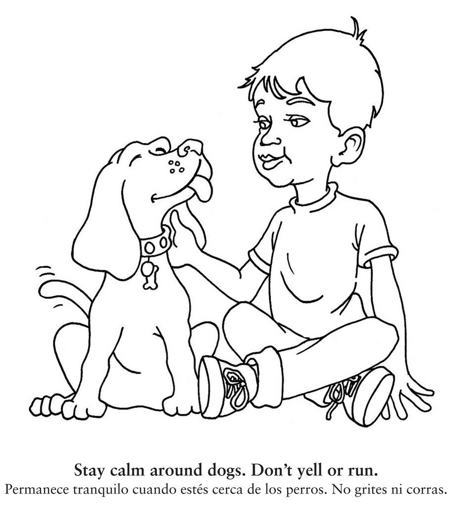 914x1024 New Coloring Book Teaches Children To Be Safe Around Dogs