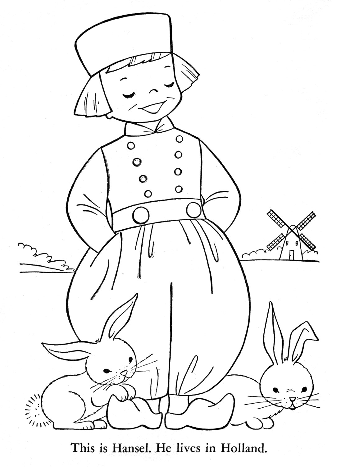 1098x1503 Children Of Other Lands Coloring Book, 1954 Q Is For Quilter