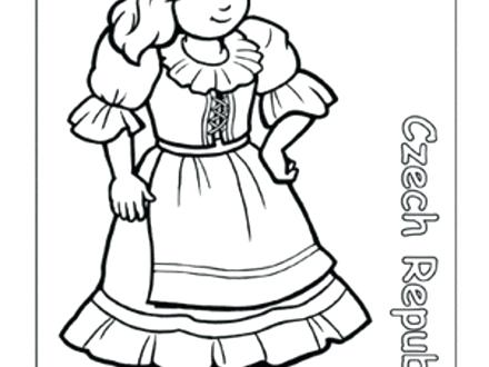 440x330 Children Around The World Coloring Pages Children Around The World