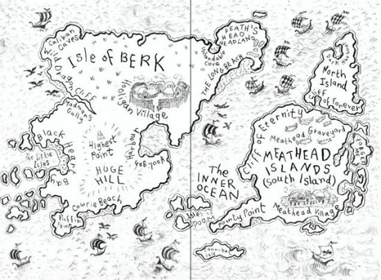 550x404 Blog On Maps In Children's Books (And How Much We Love Them