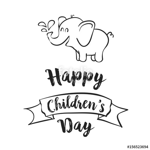 childrens day drawing at getdrawings com free for personal use