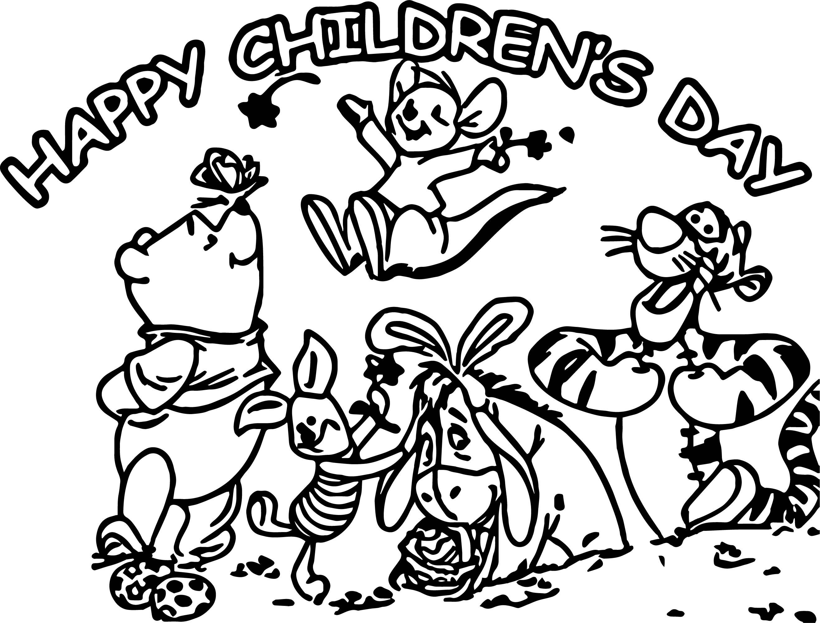 2633x2001 Children39s Day Coloring Pages Simple Colorings