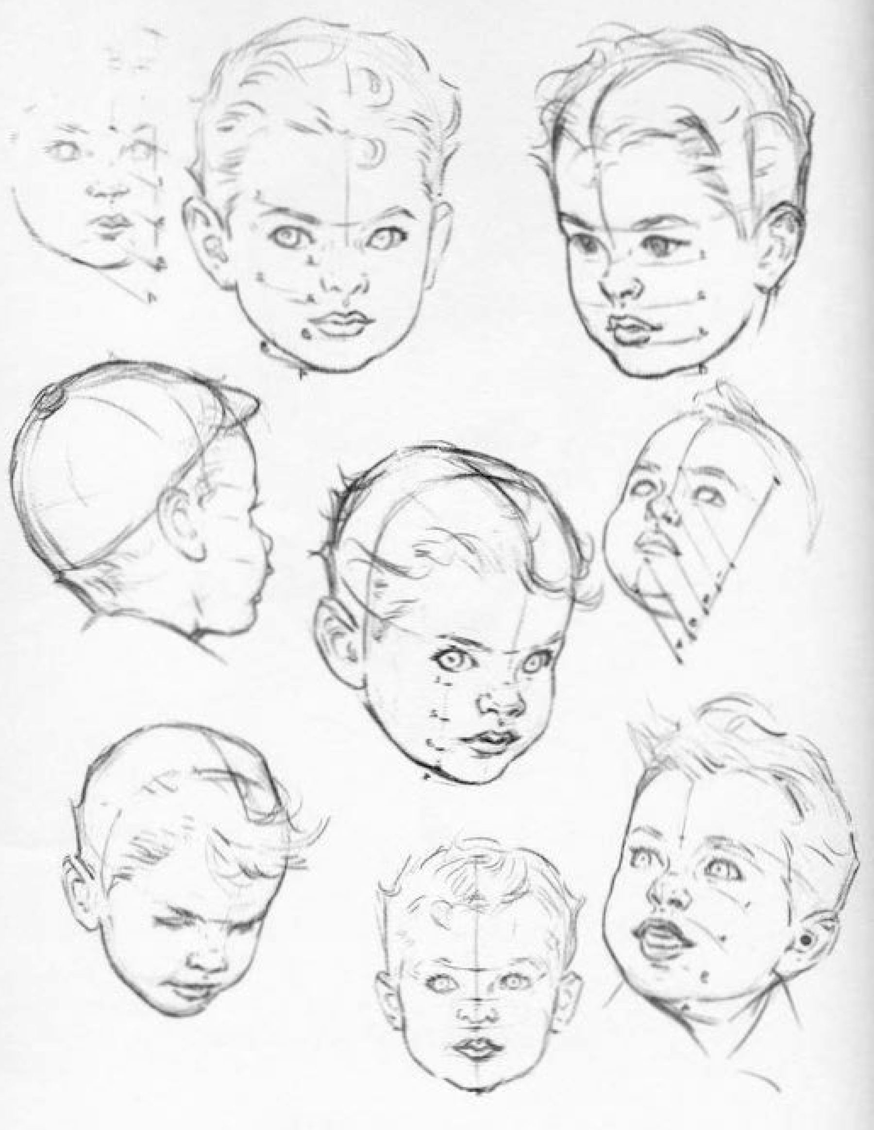 1800x2326 Photos How To Draw Childrens Faces,