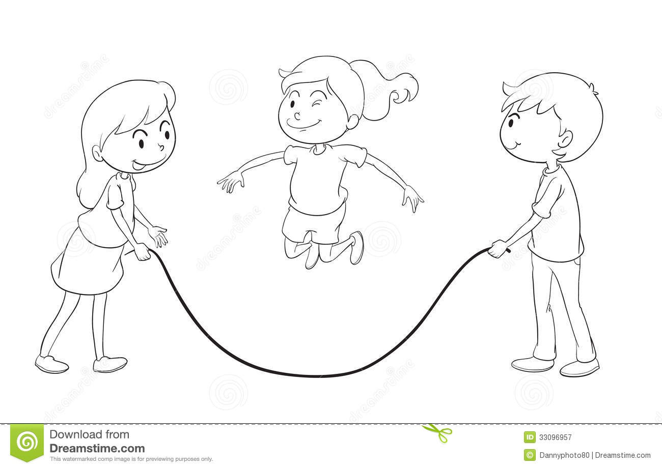 1300x922 Photos Sketches Of Children Playing,