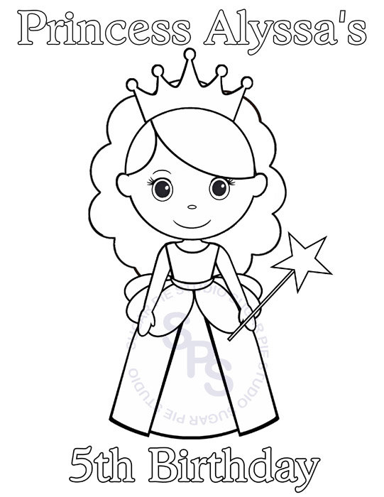 541x700 Princess Pictures For Kids Personalized Printable Princess