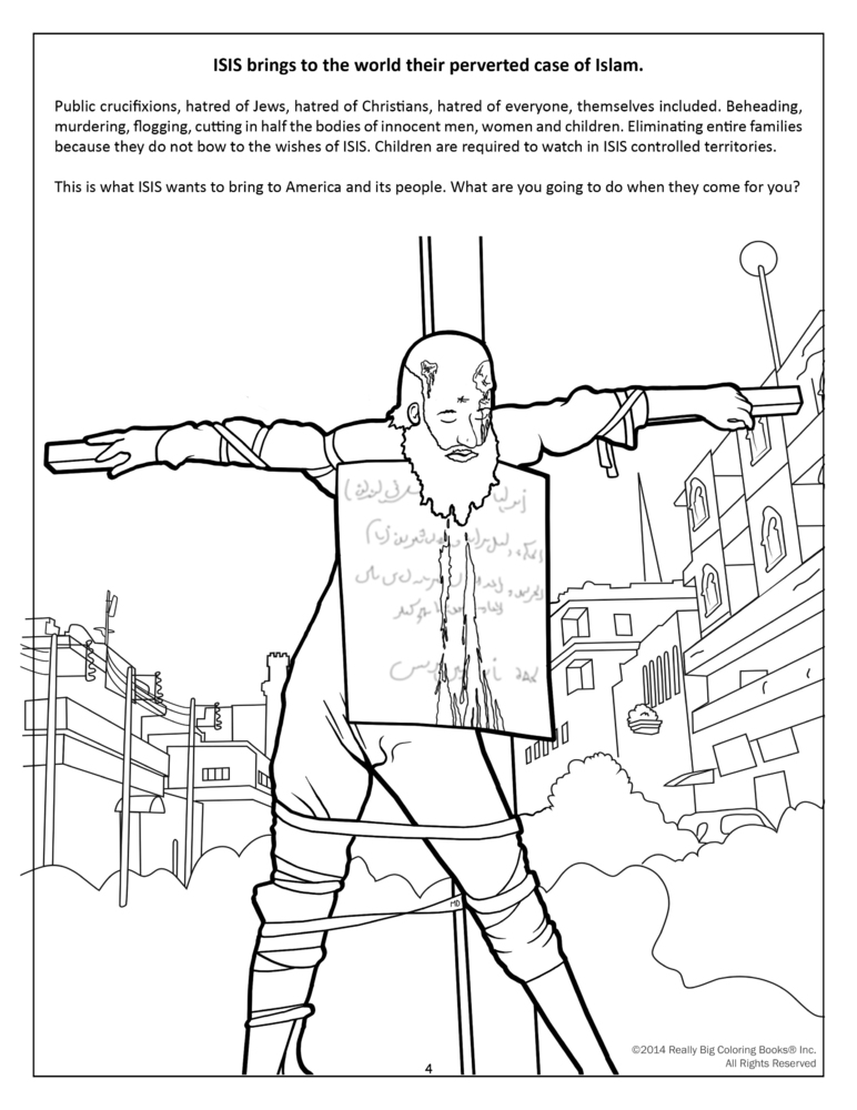 772x1000 Graphic Anti Terrorism Coloring Books Introduce Kids To Isis