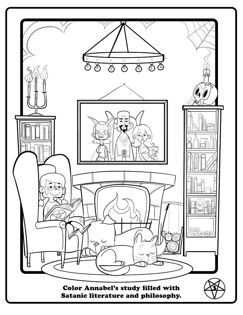 816x1056 The Satanic Children's Big Book Of Activities The Drunken Odyssey
