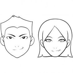 236x236 How To Draw A Face For Kids, Step By Step