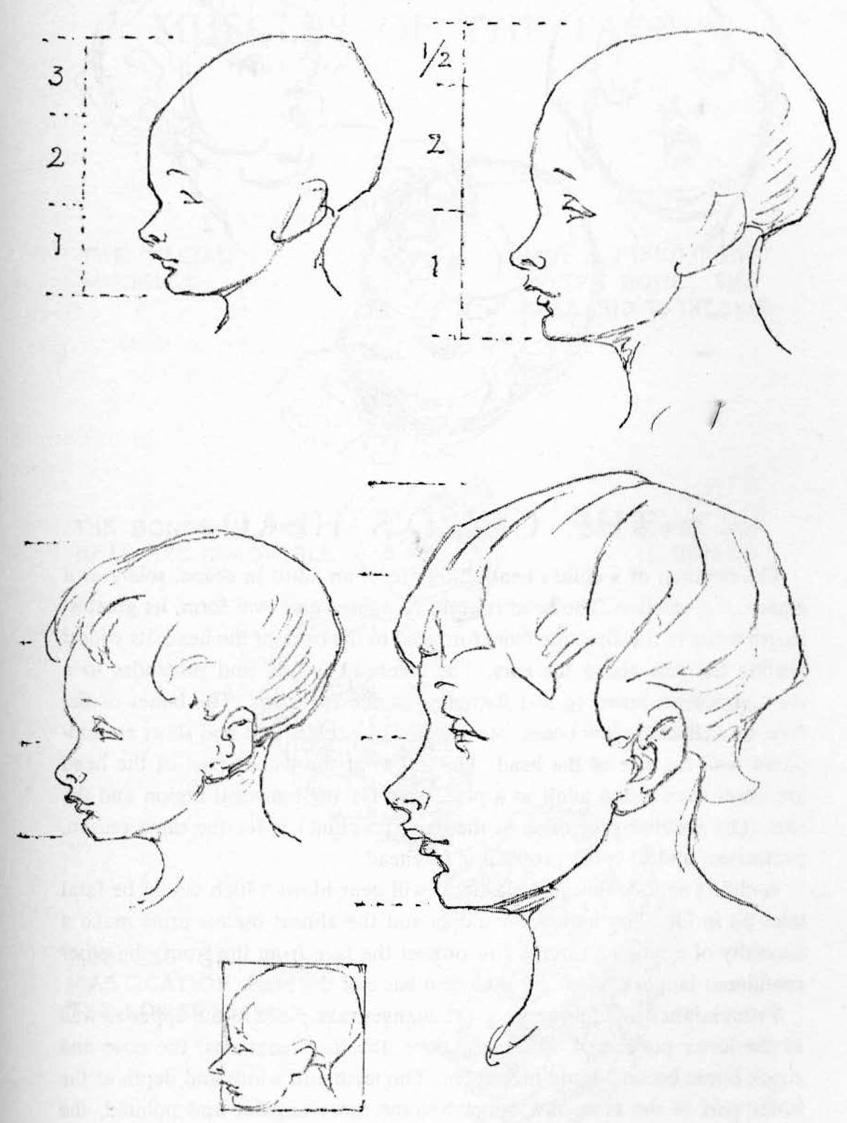 1200x1590 Learn How To Draw Children's And Baby's Faces In The Correct