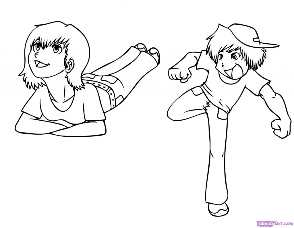 1024x794 Sketching For Children How To Draw Kids Step Step Figures People
