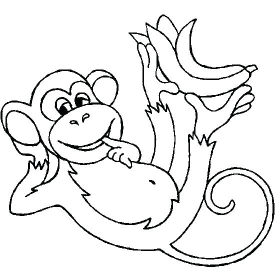 550x550 Chimpanzee Coloring Pages Awesome Drawing Of A Chimpanzee Coloring
