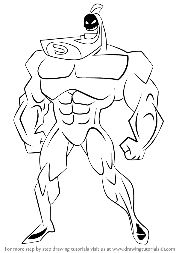 598x844 Learn How To Draw The Crimson Chin From The Fairly Oddparents (The