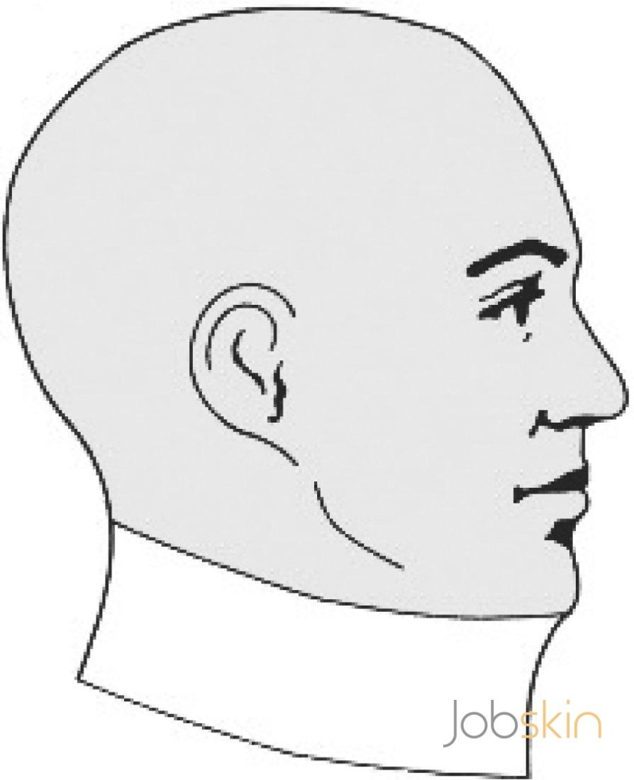 894x1100 Chin Extension Collar