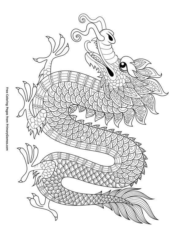 600x776 The Best Chinese Dragon Ideas On Chinese Dragon