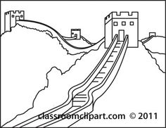 236x182 Great Wall Of China Easy Drawing Sub Plans Easy